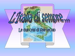 L`Italia di sempre..