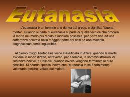Eutanasia - DIOCESI di Padova