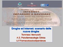 Tommaso Vannucchi Droghe ed Internet 2013