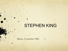 Stephen King (power point)