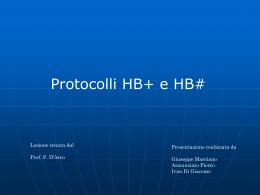 Protocolli HB+ e HB