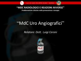 MDC in TC - Azienda Complesso Ospedaliero San Filippo Neri