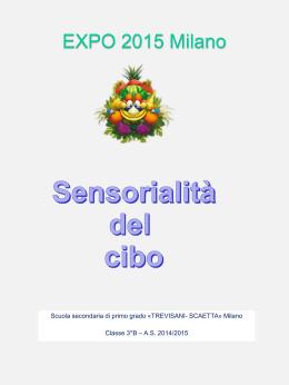 poesia expo sensorialità del cibo