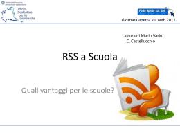 RSS a Suola - Ufficio scolastico regionale per la Lombardia