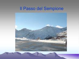 passo del Sempione - Scuola Media di Piancavallo