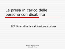 Slide Svamdi dott.ssa ROSSELLA DI MARZO 15 MARZO 2013