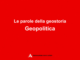 08_geopolitica - Mondadori Education