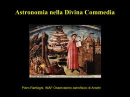 Astronomia nella Divina Commedia - Osservatorio Astrofisico di Arcetri