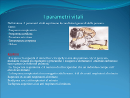 I parametri vitali - La Piramide centro studi