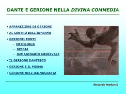 Dante e Gerione