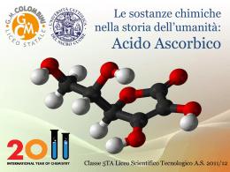 Scienze – Acido ascorbico
