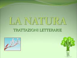 """LA NATURA - IIS """"Caminiti-Trimarchi"""" di S. Teresa di Riva"""