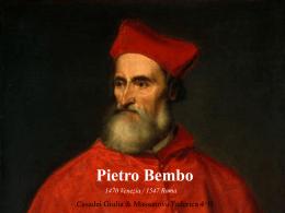 """Pietro Bembo - Liceo Scientifico """"A.Oriani"""""""