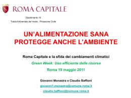 scarica slide - Comune di Roma