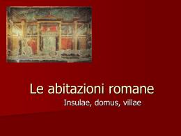 Le abitazioni romane - Comune di Civitanova Marche