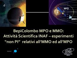 BepiColombo MPO e MMO