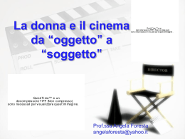 Donne e cinema
