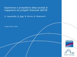 Progettazione - Associazione Italiana di Ingegneria Chimica (AIDIC)
