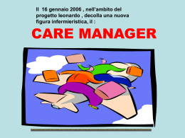 Chi è il Care Manager?
