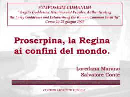 Proserpina PowerPoint