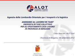 Diapositiva 1 - Provincia di Bergamo