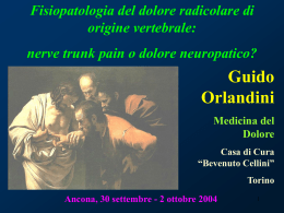 nerve trunk pain o dolore neuropatico?
