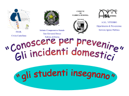 06 - incidenti domestici