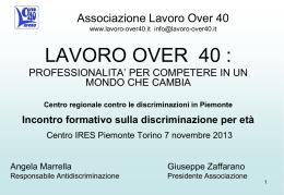 Lavoro over 40 - IRES Piemonte