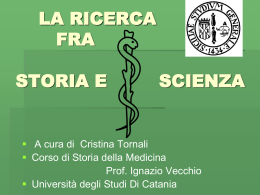 Lezioni 1-2 (prof. Vecchio) - Medicina