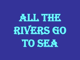 Il fiume Liri - All the rivers go to sea Comenius project