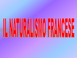il_naturalismo_francese