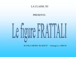 Le figure frattali