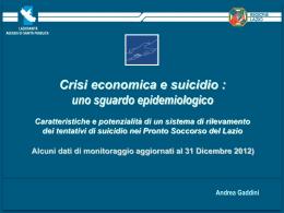 Crisi economica e suicidio