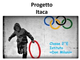 Uniti nello sport - Istituto Istruzione Superiore Don Milani