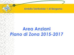 Area Anziani. PdZ 2015-2017