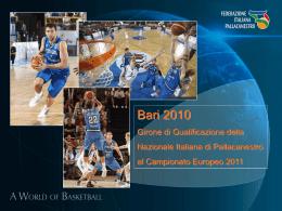 Gradinata non numerata € 26,00 - Federazione Italiana Pallacanestro