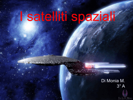 I satelliti spaziali
