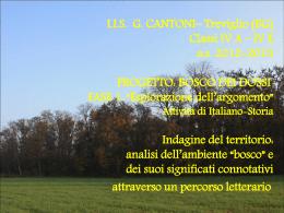 Diapositiva 1 - ITAS Cantoni Treviglio