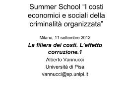 Alberto Vannucci -I costi della corruzione