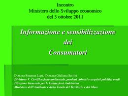 Giuliana Serrini - Reach - Ministero dello Sviluppo Economico