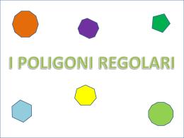 I POLIGONI REGOLARI