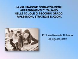 Strategie DSA Italiano - www.alberghieromarinadimassa.it