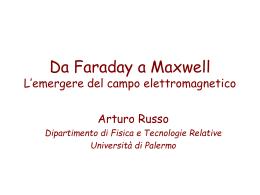 la teoria di campo di Faraday (, 4457 KB)
