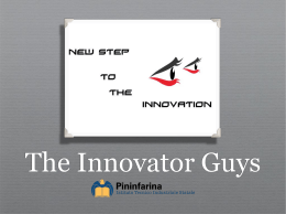 PPT The Innovator Guys