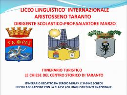 Le Chiese del Centro Storico di Taranto