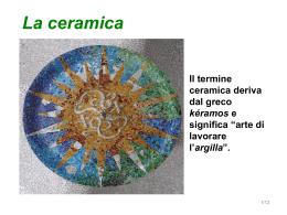 la ceramica - Mazzini