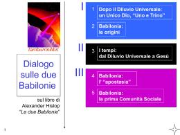 Dialogo sulle due Babilonie parte II