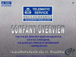 Business 5 - Telematic Service Communication