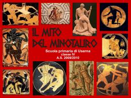 il mito del minotauro - Secondo Circolo Città di Castello
