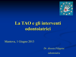 INTERVENTO Dr.ssa FILIPPINI